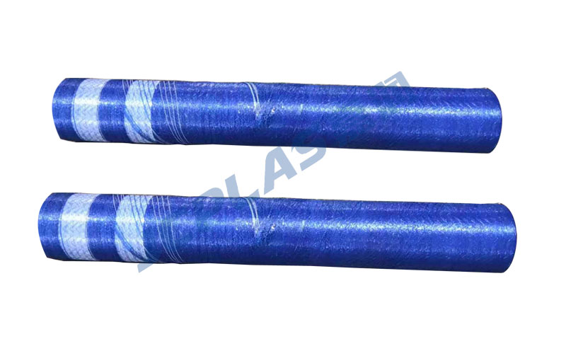 Export blue bale net wrap