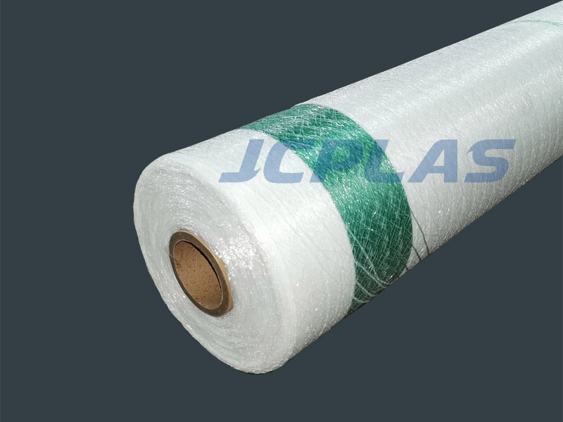 Fast reliable full coverage bale wrap net
