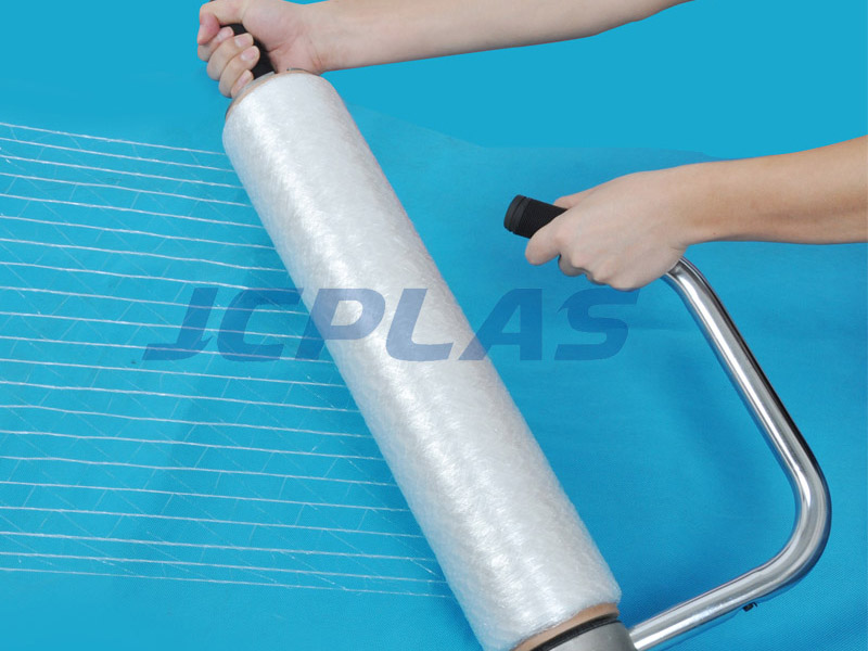 JCPLAS FlexNet-Stretch Pallet Net